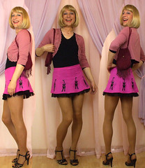 pussycats (gillian .) Tags: tv cd transgender mature transvestite miniskirt crossdresser ts tg adamandeve trannie