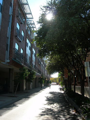 Residential properties in the West End Historic District