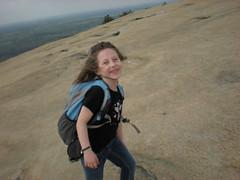 13 - Iz Near the Top of Stone Mountain