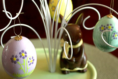 4-10-2009 (bwcImages) Tags: easter eggs paintedeggs