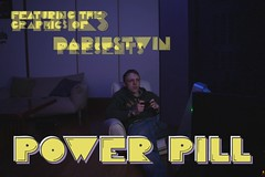 POWER PILL(video) (tdub303) Tags: light motion writing painting photography graffiti stencil long exposure power twin stop pacman animation pill darius fiziks powerpill pemdas tdub303