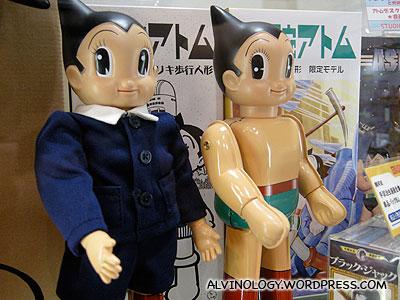 Vintage Astroboy toys