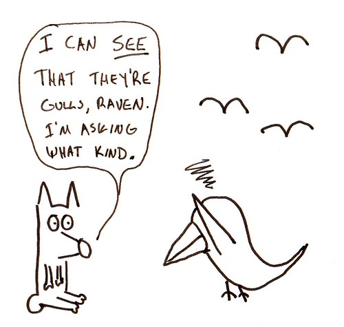 366 Cartoons - 069 - Coyote and Raven