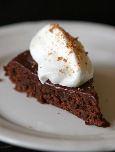 15 Minute Magic Chocolate Amaretti Torte