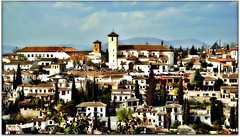 #17: Recordar mis primeros pasos....... (nanettesol) Tags: luz san juan paisaje nicolas alhambra granada arabe colina barrio albaycin ranas tipico espaaandalucia focusbokeh