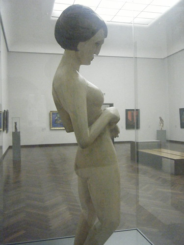 Another view of Kirchner's Nude Girl in the Städel Museum of Frankfurt.