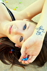 skittles girl (Scarleth White) Tags: blue brown white happy photography model eyes nikon colours photoshoot gorgeous krista skittles d90 scarleth thisgirlwasdifficulthehe itturnedoutokiguesshehe imightreconsiderthisphotographything