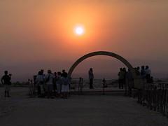 Battistero (gbf58) Tags: sunset canon baptism powershotg1 giordania otw rivedelgiordano