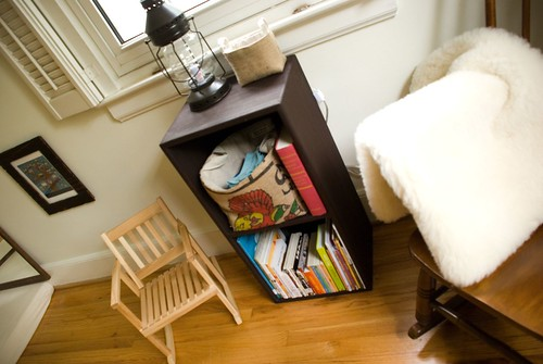 finn's room :: nursing supplies, library books, and vegetarian-friendly lambswool fleece mat