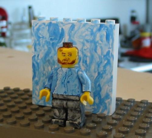 Vincent Van Gogh Custom Lego Minifig