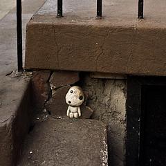 [フリー画像] [物/モノ] [おもちゃ/トイ] [人形] [木霊/こだま] [もののけ姫]      [フリー素材]