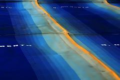 Strada sul mare (Oriana Milani (poco tempo)) Tags: road blue abstract beach nikon strada blu astratto spiaggia