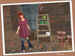 En plein jardinage (Ys Ah) Tags: secondlife freebies dutchtouch fashionsladdict