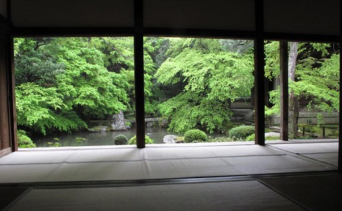 Rengeji garden view