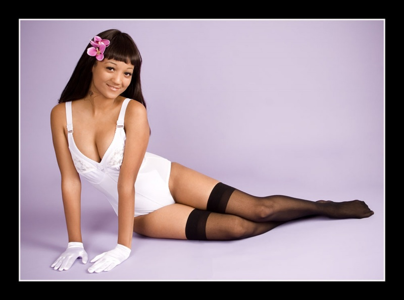 white_girdle_and_black_stockings