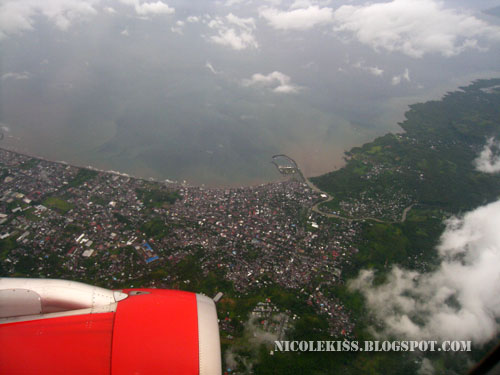 manado from sky view