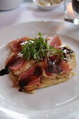 Anthony David - potato tart, prosciutto