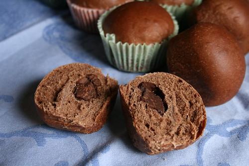 チョコレートパン(ヨーグルト酵母)