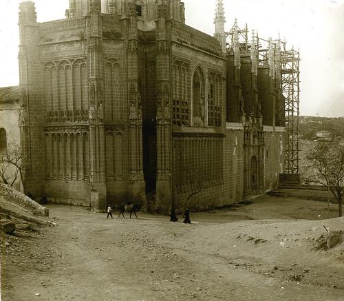 Monasterio de San Juan de Los Reyes de Toledo a principios del siglo XX