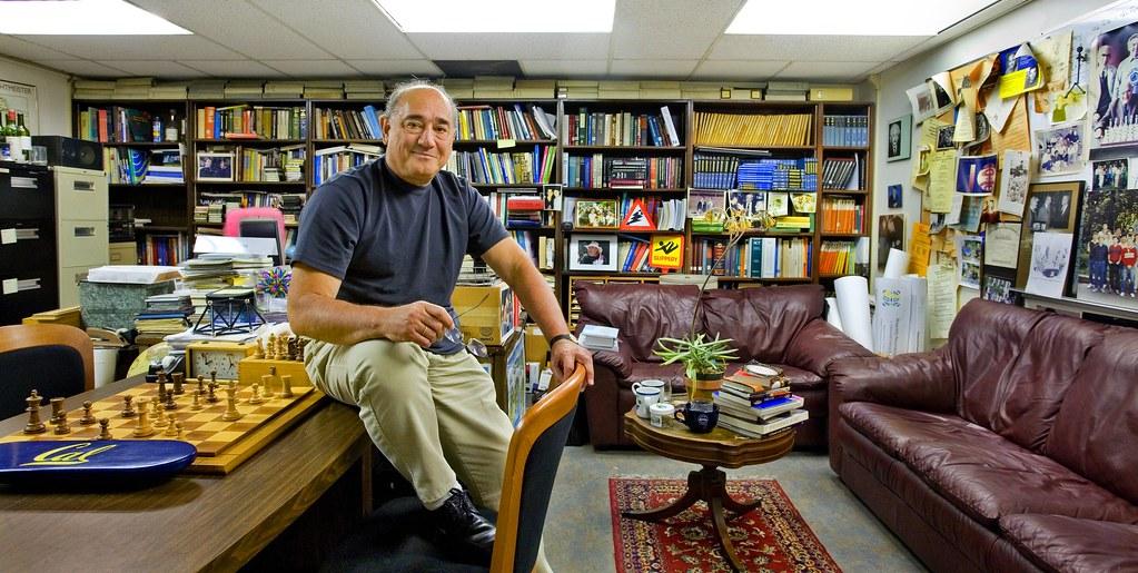 Alex Pines - Professor of Chemistry