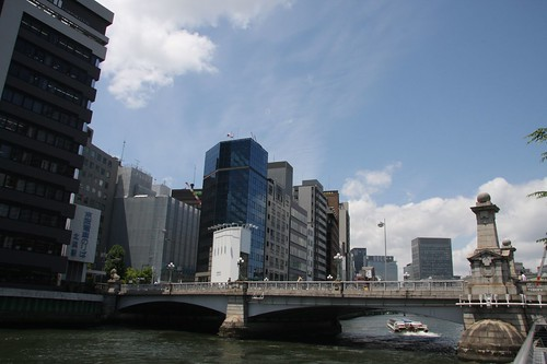 Osaka is called the capital of the water.