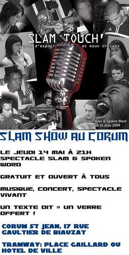 Slam Show au Corum : Slam Touch'