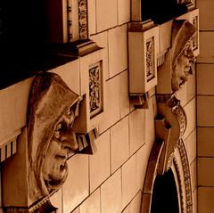 Always Watching (Jenn (ovaunda)) Tags: ventura california sony dsch5 historical courthouse oldcourthouse landmark downtown cityhall historialbuildings friars architecture architecturaldetail brick concrete ovaunda jennovaunda