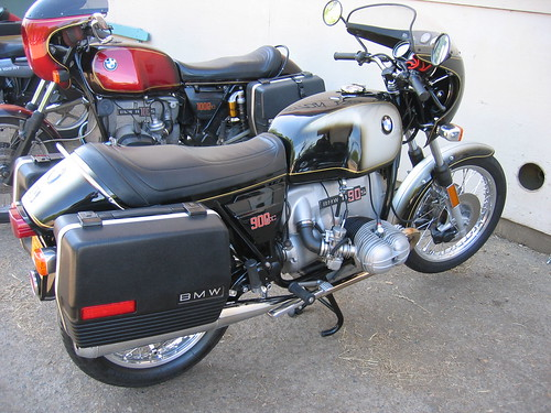 BMW R90S OVM Vintage Motorcycle Show Corvallis