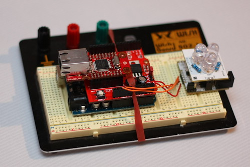 Arduino with Ethernet and MaxM