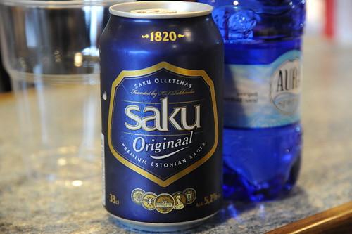 Saku、Premium Estonian Lager !