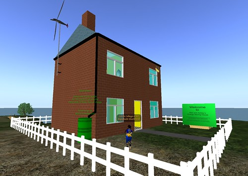 Virtual Environments Module - Year One - Energy Saving House