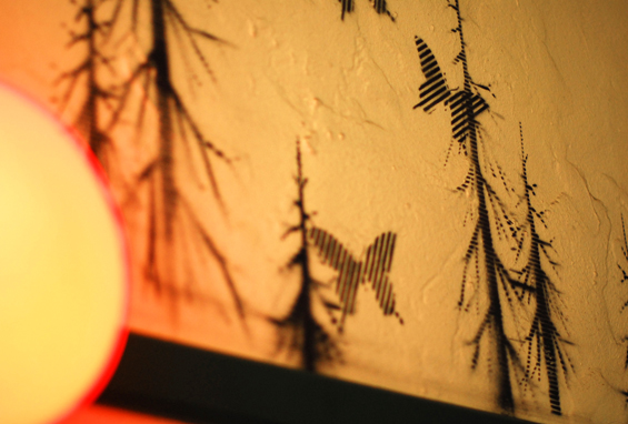 butterfly walls