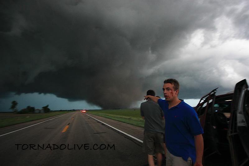 Reed Timmer + Aurora, Nebraska Tornado