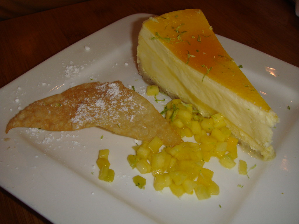 Passion Mango Cheesecake