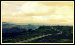 If the path be beautiful, let us not ask where it leads... (D a r s h i) Tags: road sky india mountains nature clouds fort path hill trail killa sinhagad pune gadh