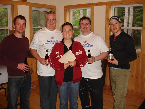 Molson Volunteers at Camp Ooch Clean Up
