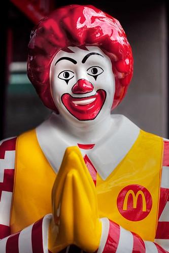 Sawasdee Ronald McDonald