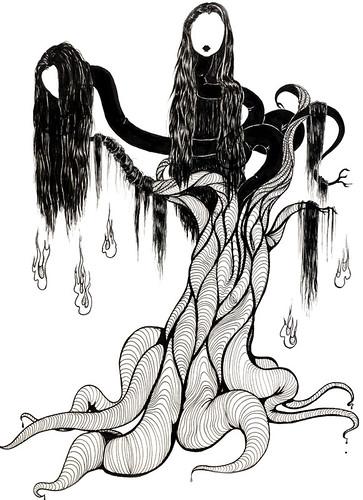 Jubokko Obake (Japanese Ghost Vampire Tree)