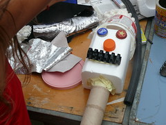 Titelles amb materials reciclats (associacioespiral) Tags: material amb titelles reciclat