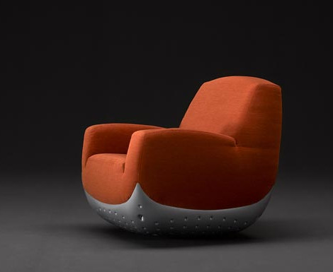 puffy swing chair-modern chair