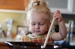 Cooking with Grammy (2) (James Enloe) Tags: cute cookies nikon toddler grandmother cook granddaughter janet miranda bake grammy enloe d90 mirandaenloe