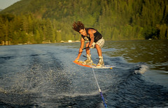 (stephenmdensmore) Tags: summer sports water jump nikon wake board