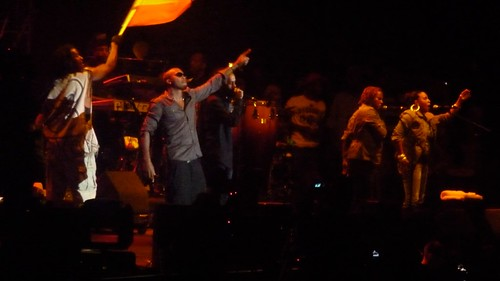 NAS & DAMIAN MARLEY ON STAGE