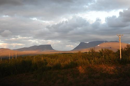 Abiskoを代表する景色