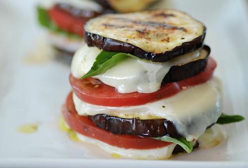 eggplant napolean