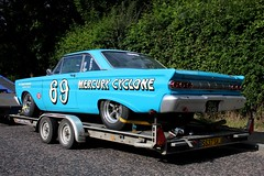 Mercury Comet Cyclone (ComfortablyNumb...) Tags: classic car race racecar mercury racing historic series masters 69 comet saloon cyclone signwriting saloons no69 pre66 signwritten rogerwills joetwyman
