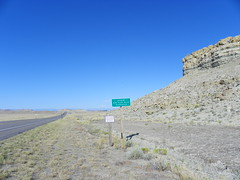 Entering Wind River Indian Reservation (J. Stephen Conn) Tags: wyoming windriver wy indianreservation fremontcounty