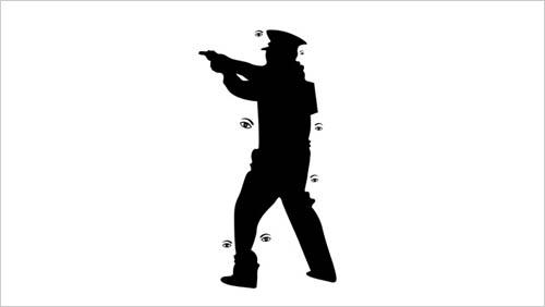 Noma Bar policía