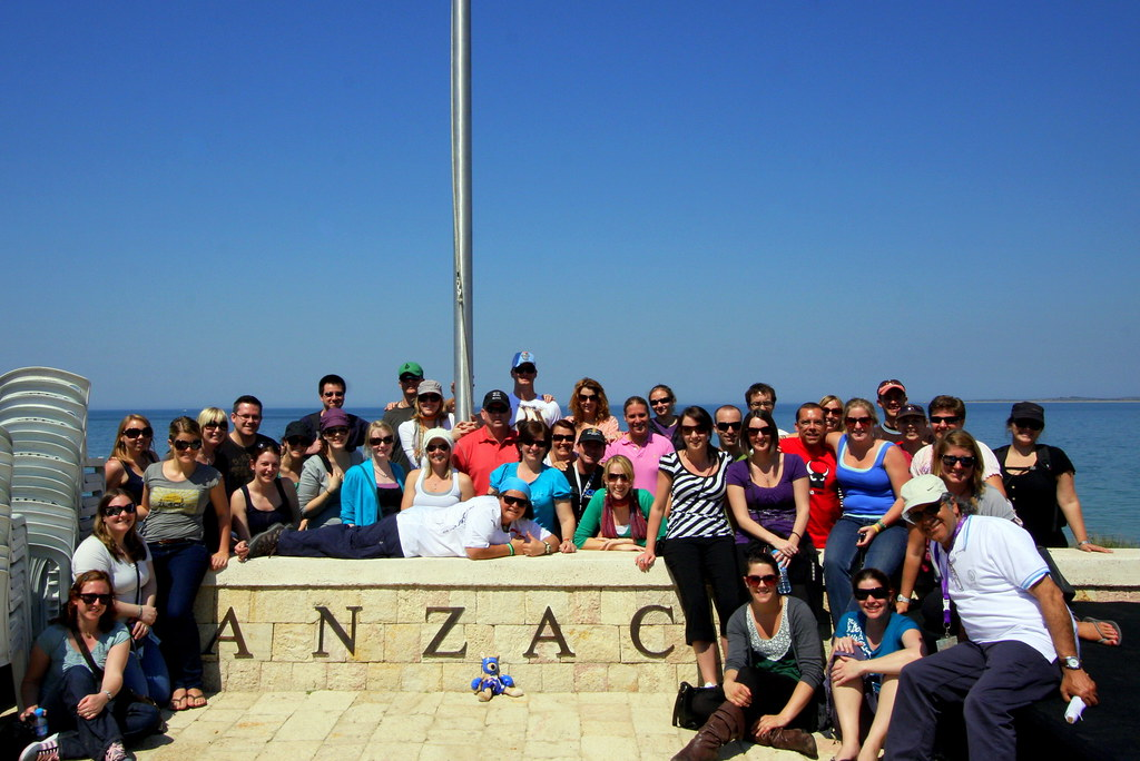 Anzac Day Tour Group