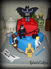 Alexs 4th Birthday Cake KrissieCakes Tags Kids Starwars Lego Batman Lukeskywalker